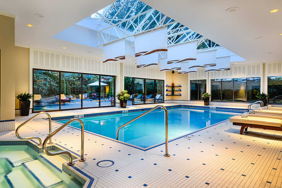 Pool and fitness centre at the sutton place hotel vancouver for Swimming pool supplies vancouver
