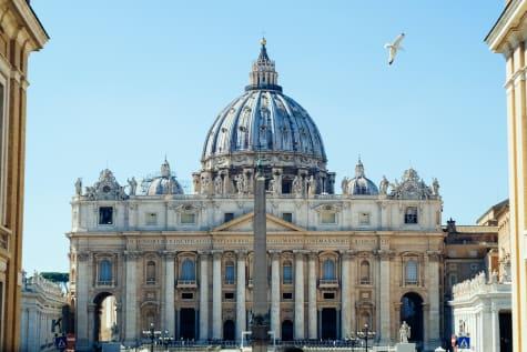 Die Basilika von St. Peter in Rom