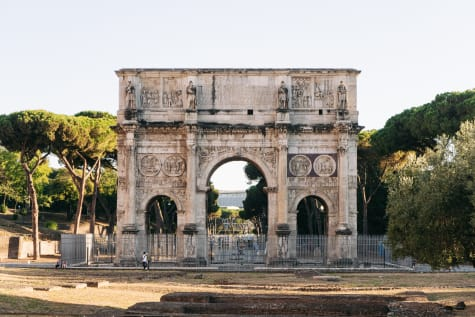 Arch of Constantine in Rome
