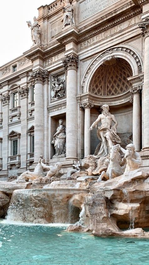 De Trevifontijn in Rome