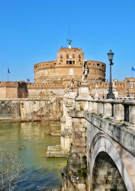 Castel Sant'Angelo and the St. Angelo Bridge