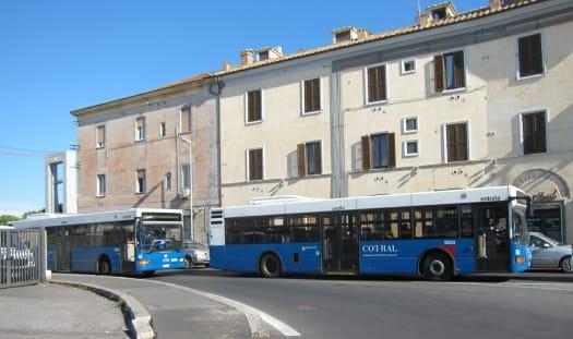 Autobuses COTRAL en Roma