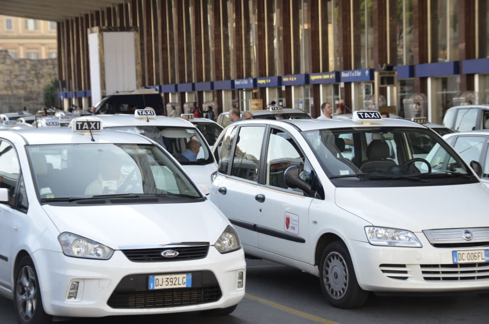 Taxi a Roma