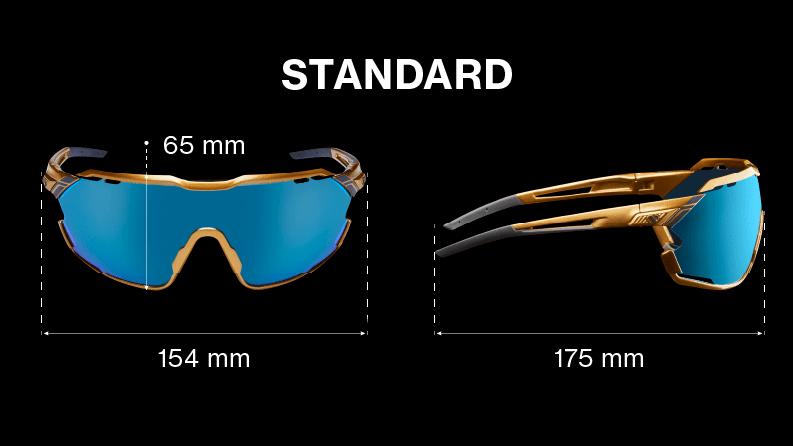 Standardmodellen är den bredaste modellen.