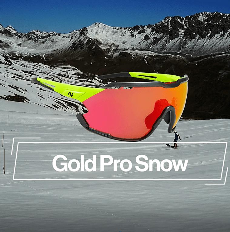 Gold Pro Snow Eyewear