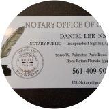 Daniel Lee, Notary Public, Boca Raton, FL 33433