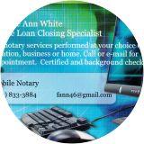 Frankie Ann White, Notary Public, Gatesville, TX 76528-3979