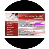 Steven Robledo, Notary Public, Torrance, CA 90503