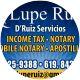 Lupe Ruiz, Notary Public, Chula Vista, CA 91911