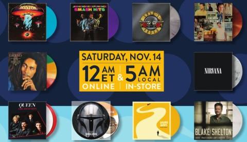 Walmart Black Friday Vinyl Sale