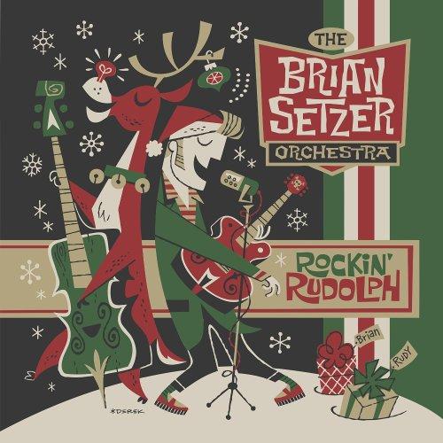 Brian Setzer Orchestra - Rockin' Rudolph Album Art