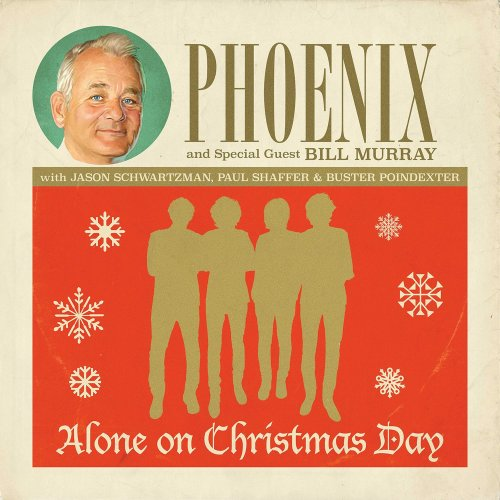 Phoenix/Bill Murray Alone on Christmas Day Album Art