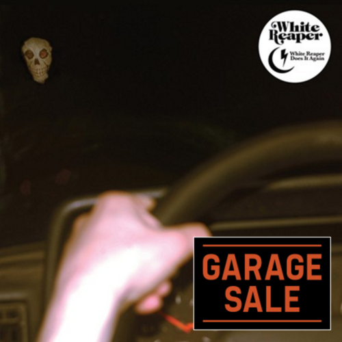 White Reaper Does it Again Album Art Garage Sale