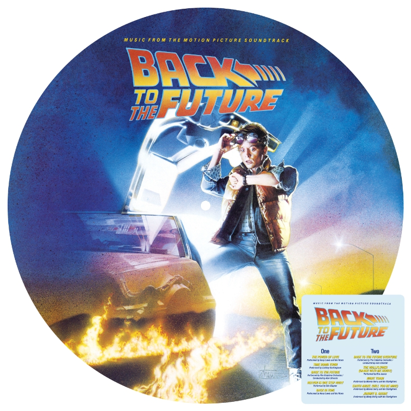 Back to the Future Vinyl Album Art