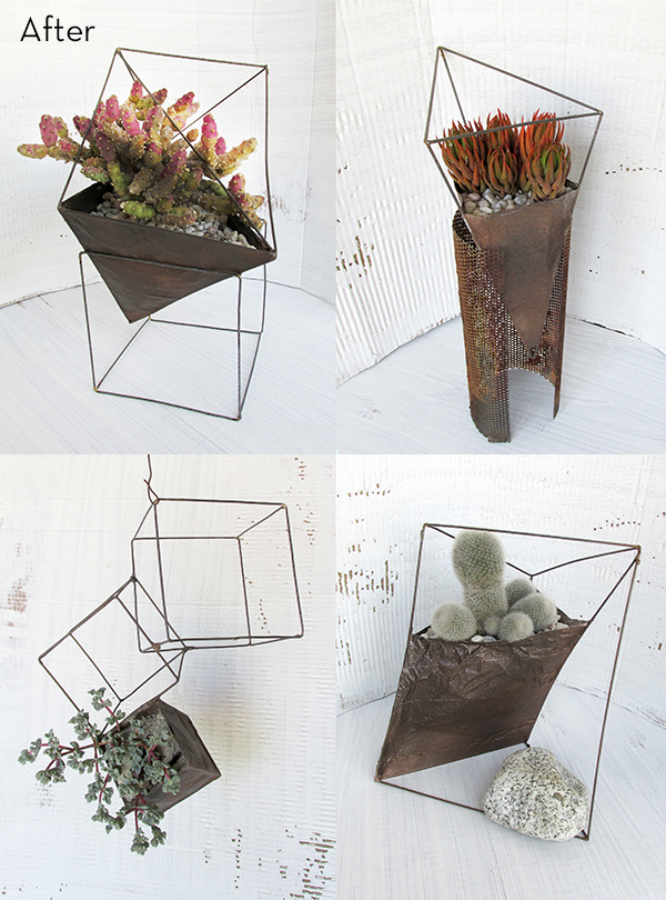 A Few Of Our Favorite Gorgeously Geometric Diy Projects The Accent