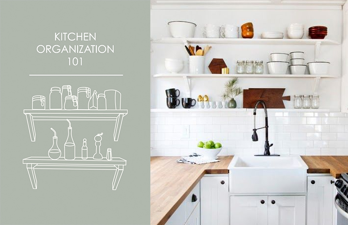 Kitchen Organization 101 (Aka, How To Make Your Kitchen Look Like