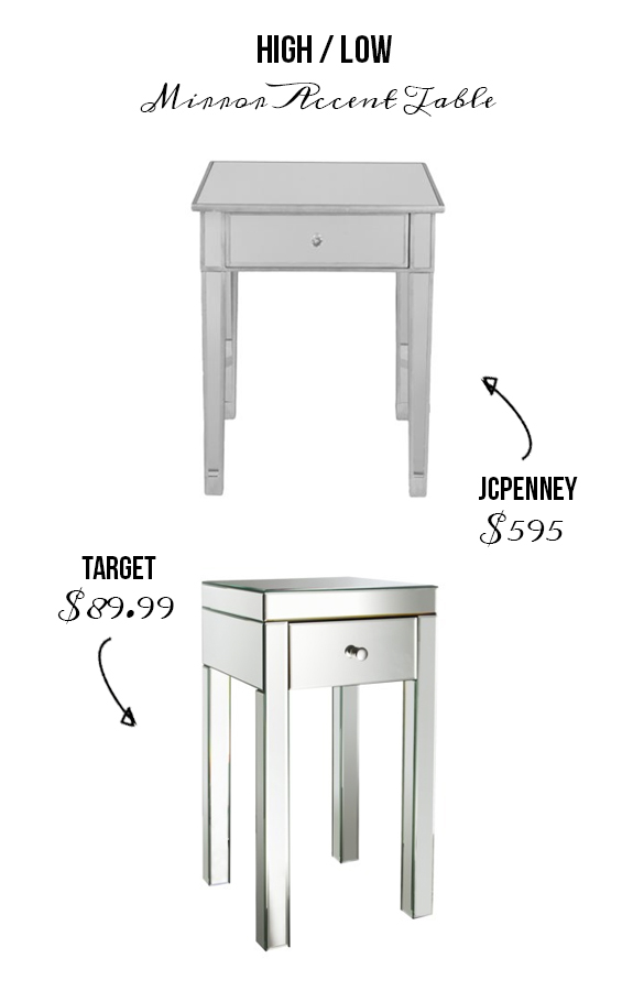 Charmant ... Mirrored End Table Target Home Design Ideas And Pictures ...