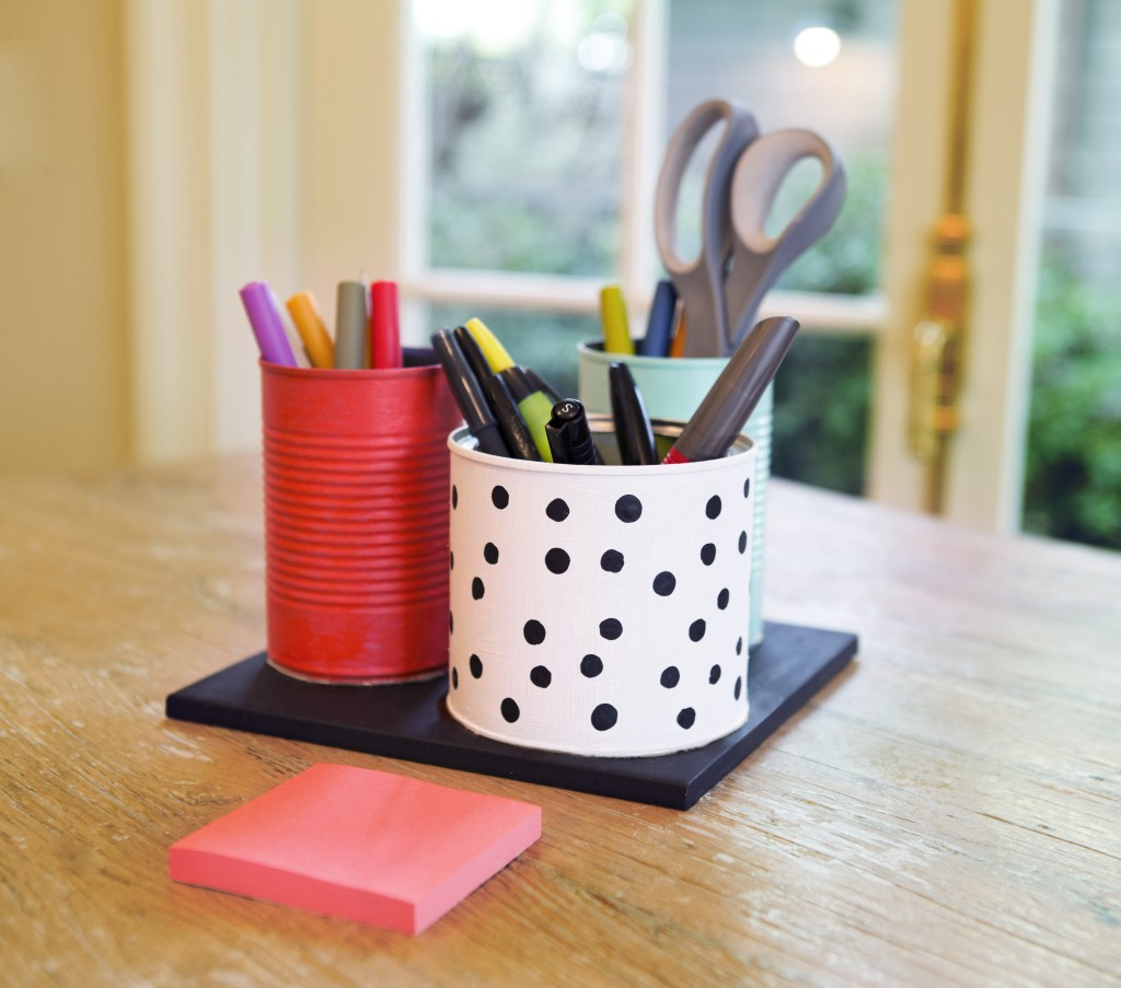 diy office desk accessories. DIY Desk Organizer Inspired By Kate Spade Diy Office Accessories