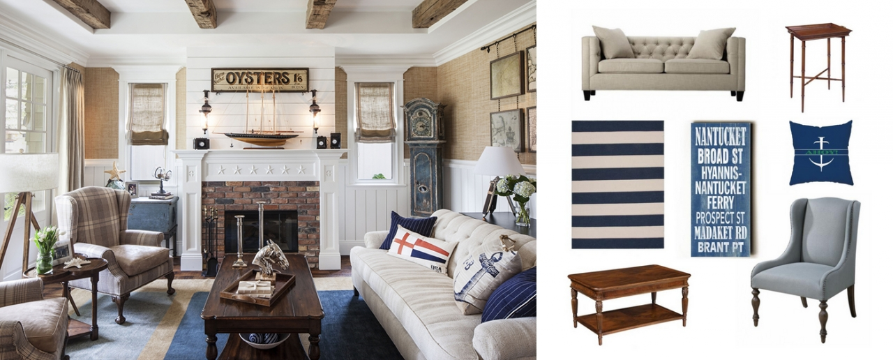 real/deal/steal: a nautical-style living room - the accent™