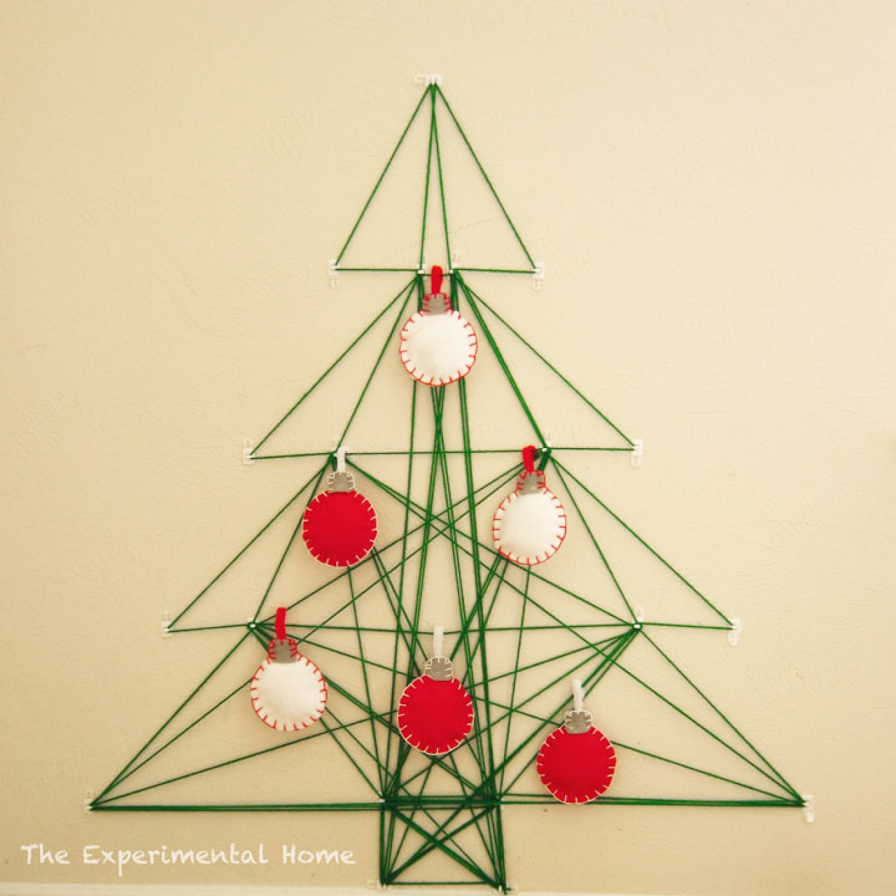 No Room for a Tree this Year? 6 Ways to DIY One on Your Wall Instead ...