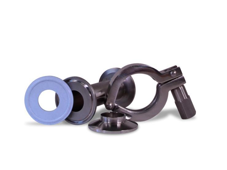 Junta higiénica GYLON BIO-PRO® para acoplamientos TRI-CLAMP