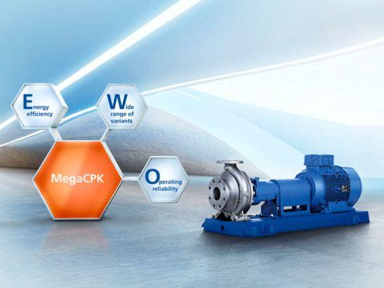 MegaCPK KSB – Bomba química normalizada
