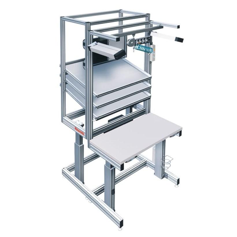 Estaciones de Trabajo (perfil de aluminio)