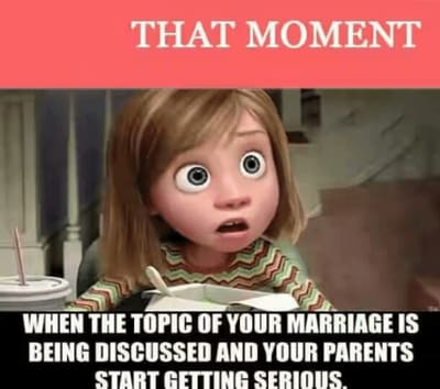 Too young to get married meme