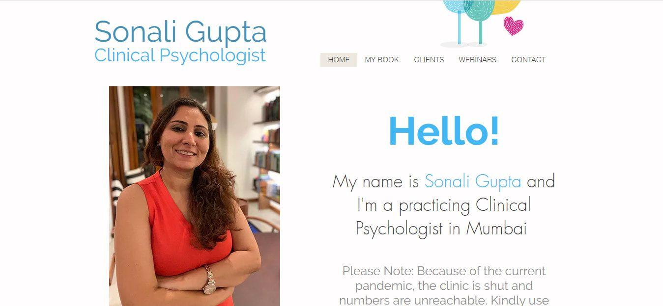 Sonali Gupta Mental Health Blog