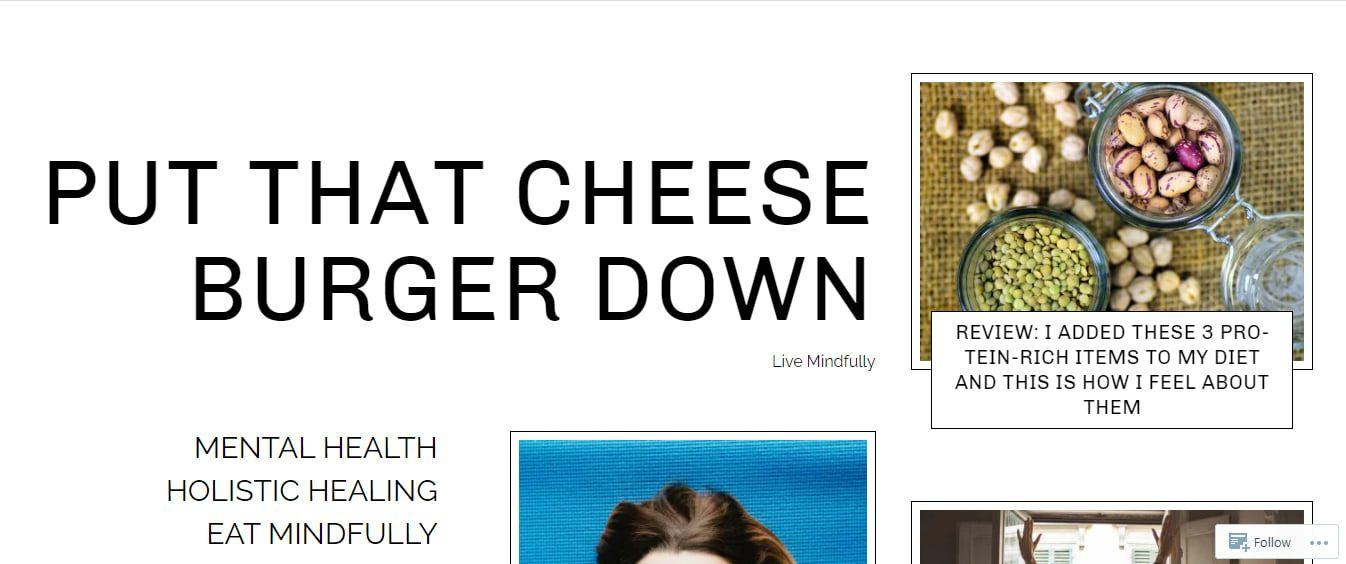 Put That Cheese Burger Down