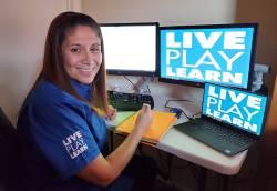 Erica Perez, recreation supervisor at Town of Queen Creek Recreation. Photo courtesy of Nia Fanaika.