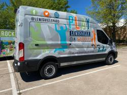 Developing a mobile recreation program is one of the recommendations from a team of experts who advised the city of Lewisville on ways to ensure park access and connectivity. Photo courtesy of the city of Lewisville.