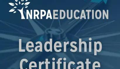 2019 February NRPA Update Leadership Certificate 410