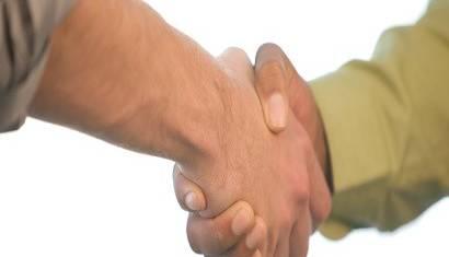 Handshake 410