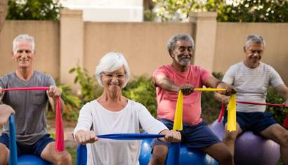 Healthy Aging Parks Grants Balance Strength