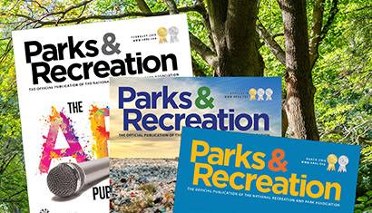 Parks and Rec Magazine 410