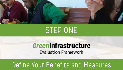 step 1 Green infrastructure evaluation framework2 410