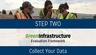 step 2 Green infrastructure evaluation framework 410