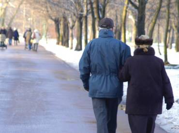2017 January Couple walking