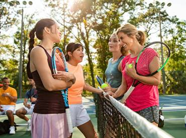 August 2019 Member to Member Adult Social Tennis League Programs 410