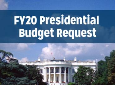 FY20 Presidential Budget Request