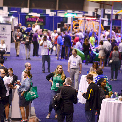 2017 August Feature Conference Exhibit Hall at a Glance 410