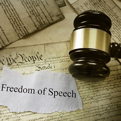 2019 April Law Review Crude Racist Skit Tests First Amendment 410