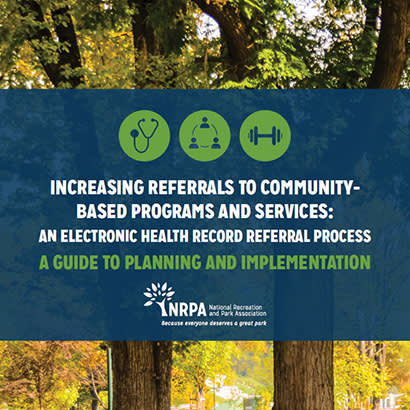 2019 September NRPA Update Developing Community Integrated Health Strategies 410