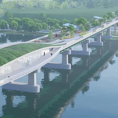 2021 July Park Bench Environmentalist Pitches Bison Bridge 410