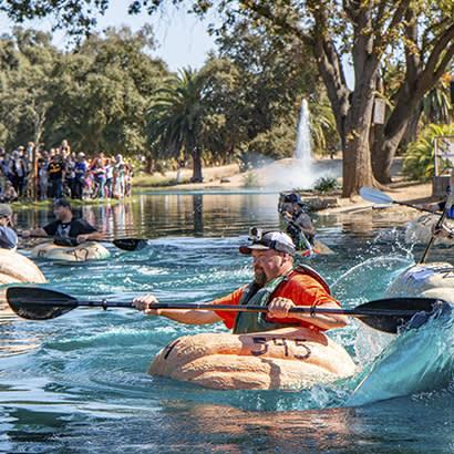 2021 October Park Bench Whatever Floats Your Pumpkin Boat 410