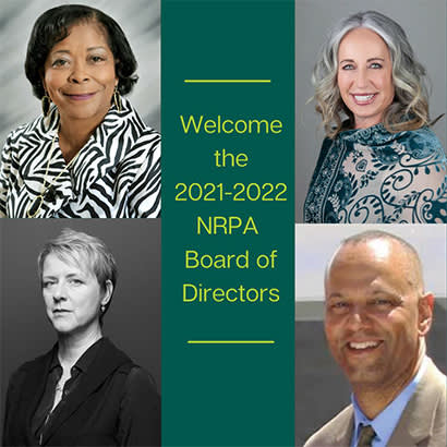 2021 September We Are Parks and Rec NRPA Welcomes 2021 2022 Board of Directors 410
