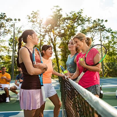 August 2019 Member to Member Adult Social Tennis League Programs 410