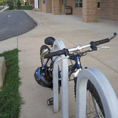 Mobile and Versatile Use Bike Racks Support Alternative Transportation 410