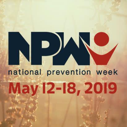 National Prevention Week blog 410